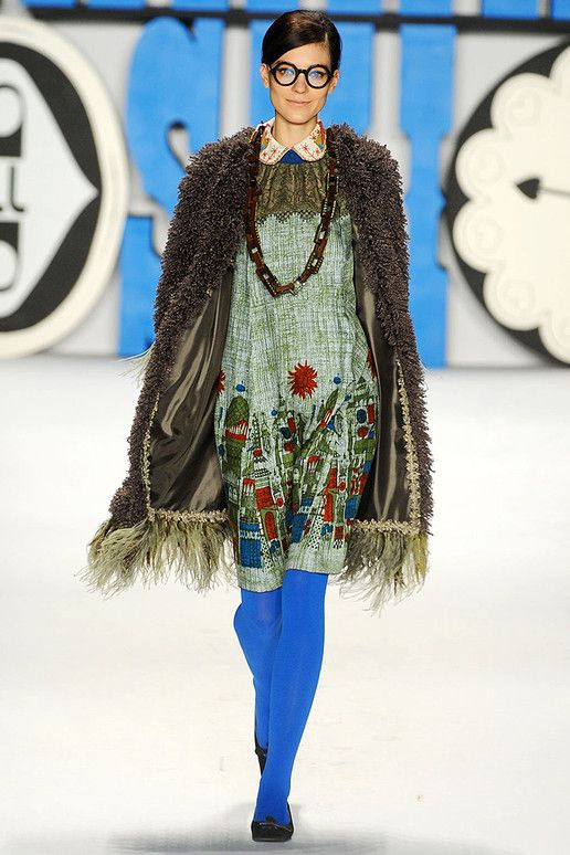Love! Anna Sui; Fall 2012