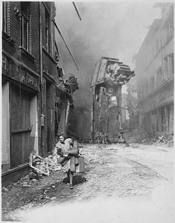star wars segunda guerra mundial
