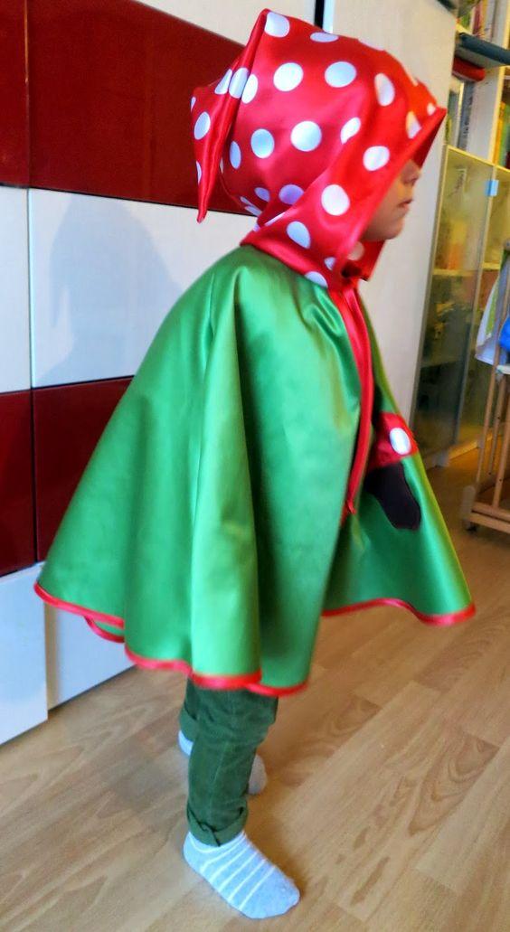 liebste schwester: Mein kleiner Pilz....DIY Faschingskostüm für Kinder