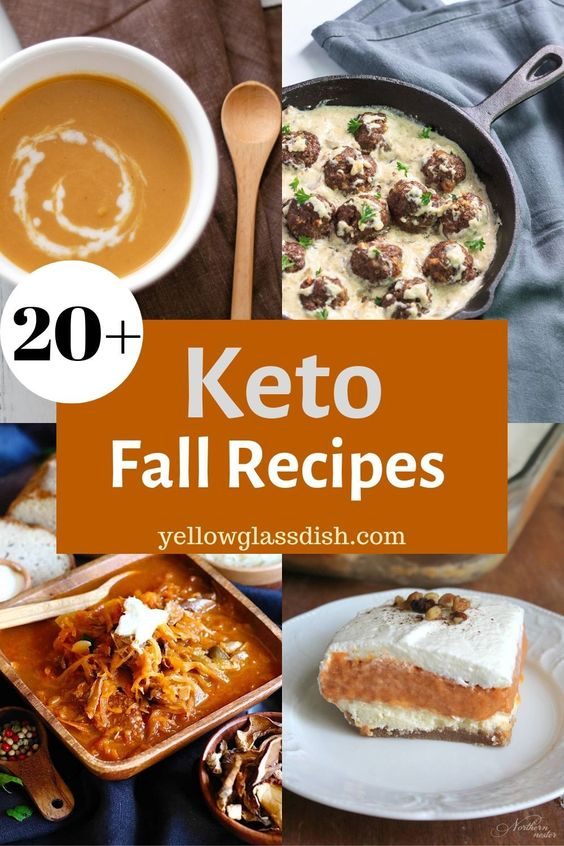 Low Carb Fall Recipes - Yellow Glass Dish | Keto | THM-S