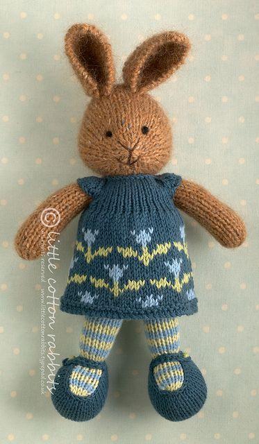 Little Cotton Rabbit Crocheting & Knitting Pinterest Little cotton ...