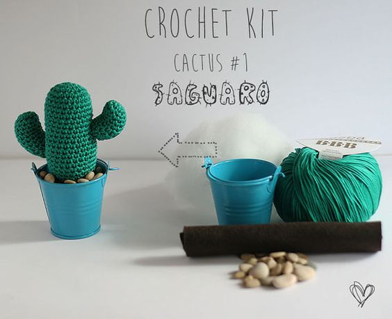 Learn to crochet a cactus you definitely can't kill.