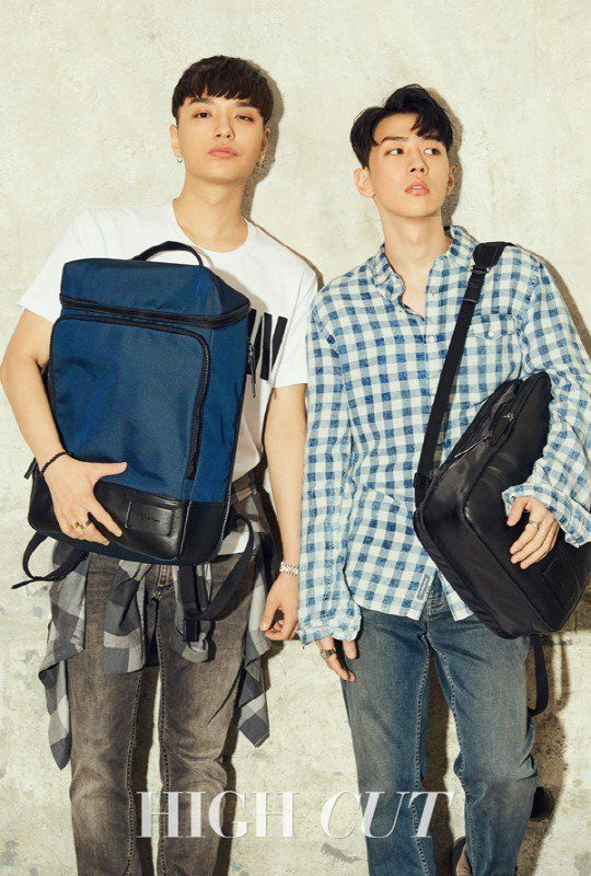 Simon Dominic and GRAY Are Featured in High Cut | Koogle TV: