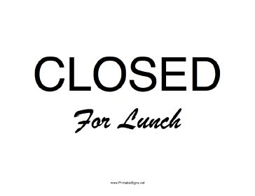 out to lunch signs spring clipart hatenylo com