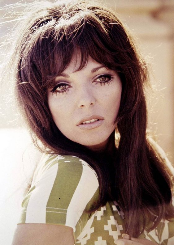 Joan Collins - that hair, those eyelashes, the stare - zip it shrimpy.: