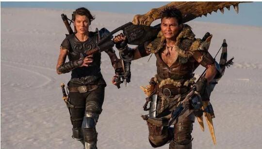 Tony Jaa And Milla Jovovich In Monster Hunter Live Action Monster Hunter Movie Monster Hunter Tony Jaa