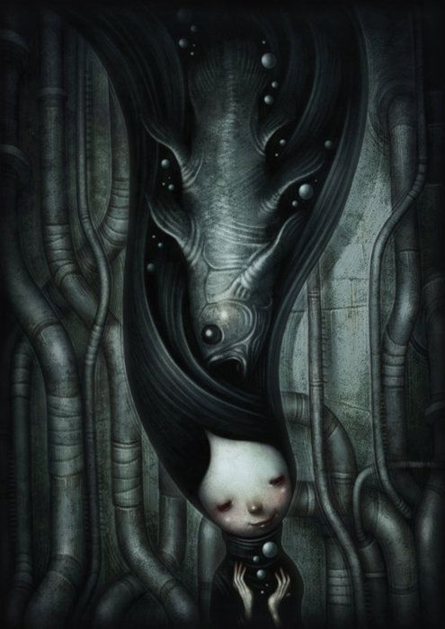 Coelacanth by Shichigoro