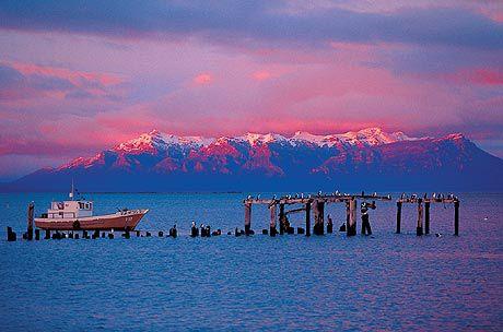 Puerto Natales, Magallanes Region, Chile.