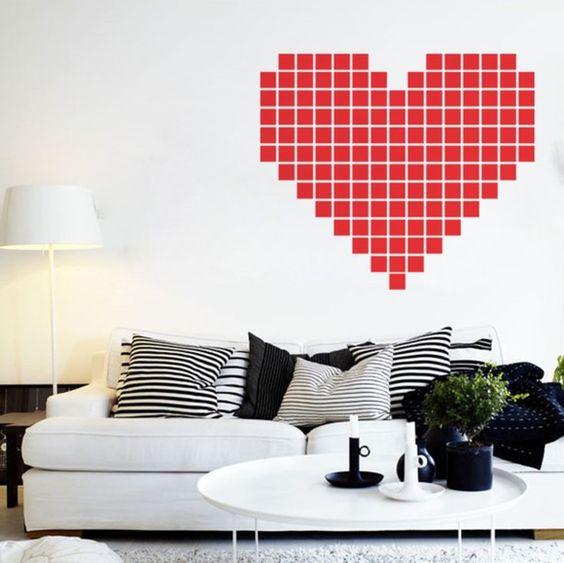 Adesivo Pixel Heart R$103.00