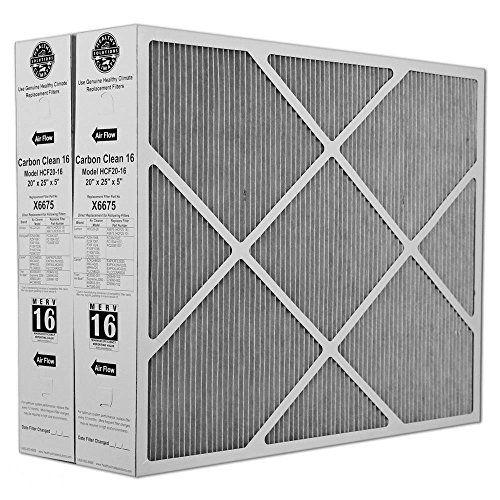 Heating Cooling Air Lennox X6675 Carbon Clean 16 Merv 16 Filter