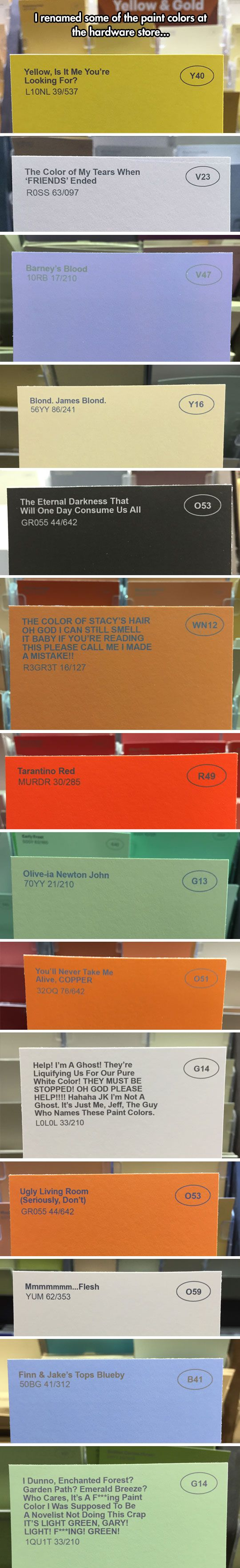 The Greatest Color Names In The World.