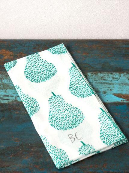 Pears Tenugui Hand Towel