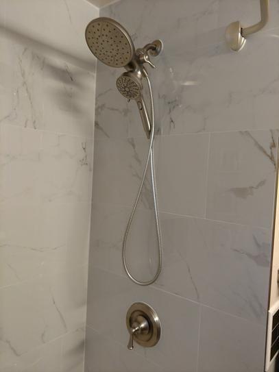moen brecklyn single handle 6 spray tub