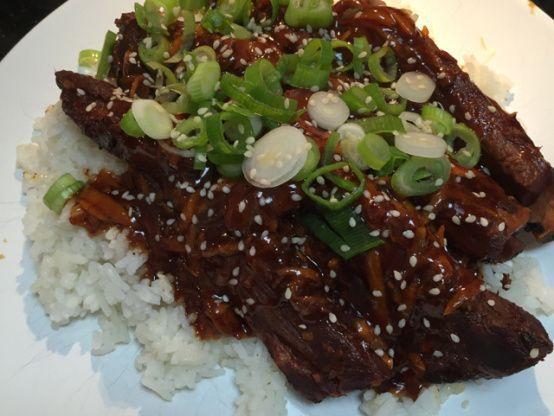 Korean Style Short Ribs Crock Pot Recipe Food Com Recipe Recipes Crockpot Ribs Pork Spare Ribs