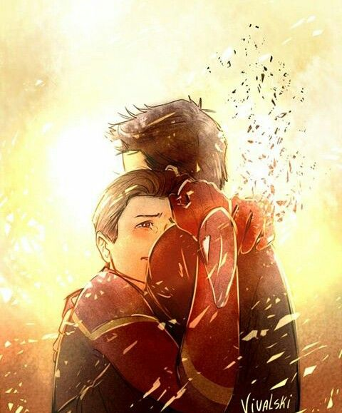 Tony and Peter (Avenger Infinity War)