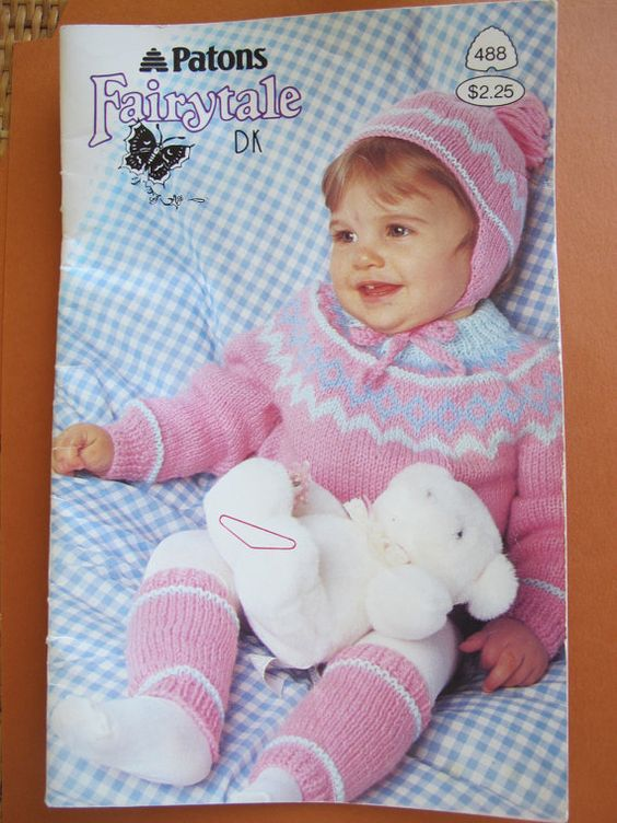 ... knitting patterns / Boy and girl sweater patterns / Beehive Patons