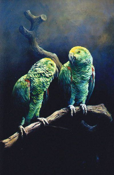 The Parrots   Fred Fredden Goldberg (1889 – 1973)