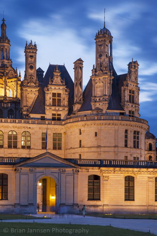 Chateau Chambord, Loire Valley, Centre France. © Brian Jannsen Photography