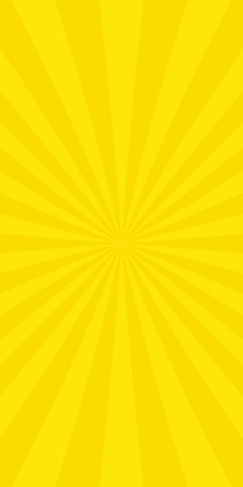 Yellow Abstract Sun Burst Background From Radial Stripes Vector