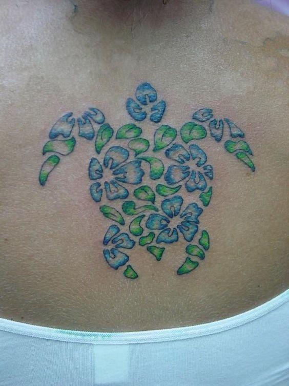honu turtle tattoo hawaiian honu tattoo hawaiian tattoes pinterest sun flower and a turtle. Black Bedroom Furniture Sets. Home Design Ideas