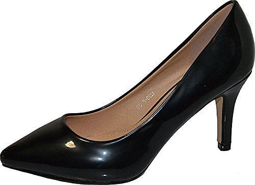Damen Pumps Spitze Pastell High Heels Schuhe Lack Glitzer Elegant Peep-Toes Hochzeit Größe 37, Farbe Schwarz - http://on-line-kaufen.de/elara/37-eu-damen-pumps-spitze-high-heels-stiletto-lack-2