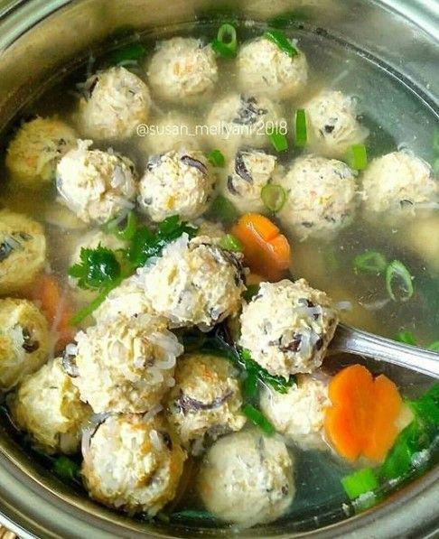 Bakso Serabut Resep Sup Sup Bakso Masakan