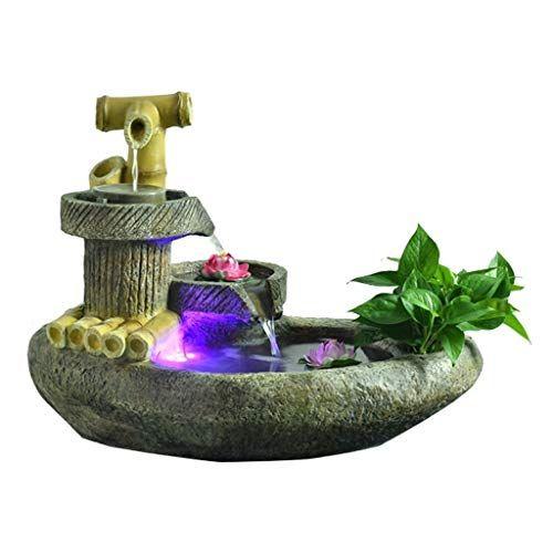 Tmy Indoor Indoor Fountain Desktop Landscape Landscape Fish Pond