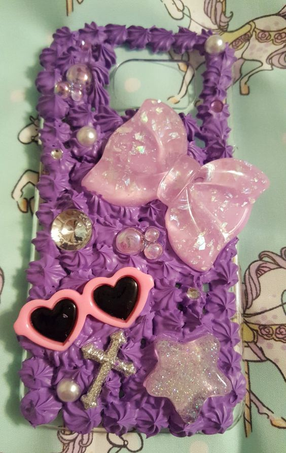 Hey, I found this really awesome Etsy listing at https://www.etsy.com/listing/270472253/handmade-purple-samsung-s6-decoden-case