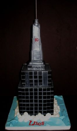 Building+Cakes | ... cake shaped like the Empire State building? Entire cake was chocolate
