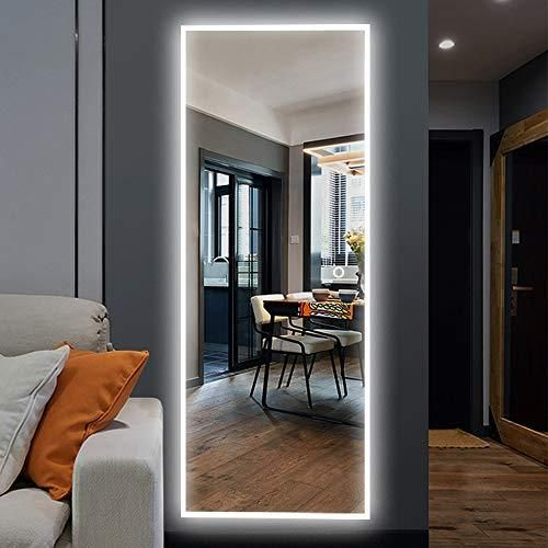 Neutype Full Length Mirror Standing Hanging Or Leaning Against Wall Large Rectangle Bedroom Mirror Floor Mirror Dressing Mirror Wall Mounted Mirror In 2021 Living Room Mirrors Mirror Decor Living Room Mirror Wall Full length mirror with led lights