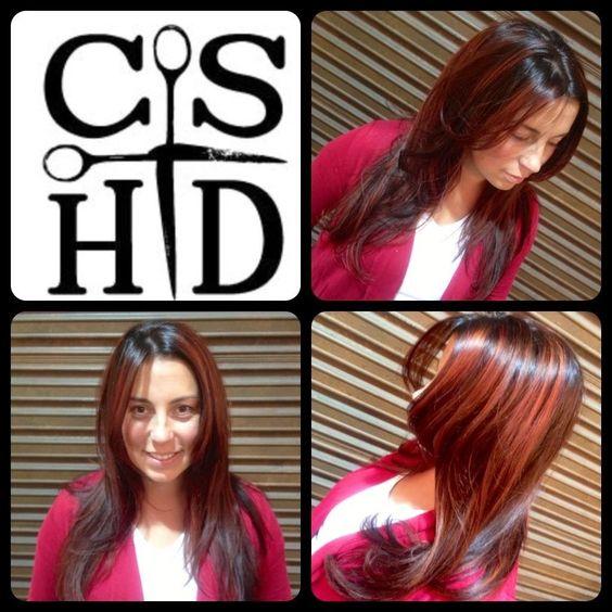 Flamboyage. Hair by Christina Sanchez Hair Design http://www.christinasanchezhairdesign.com @Davines  #davines #hairbrained