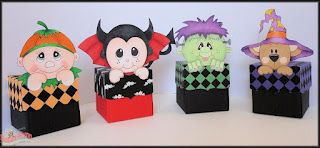 Halloween toppers and papers from www.digitaldelightsbyloubyloo.com