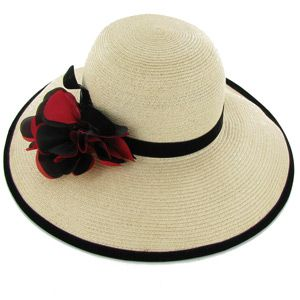 Perfect hat for a summer garden party.