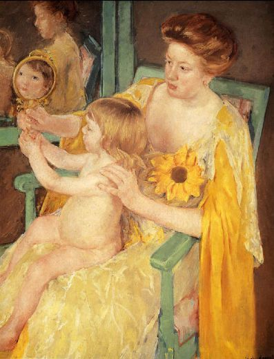 Mother and Child | Mary Cassatt, ca. 1905 Chester Dale Collection, on view: