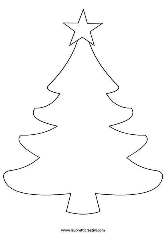 Arbol De Navidad Fieltro Patron Arboles De Navidad De Fieltro Arbol De Navidad Para Colorear Manualidades Navidenas