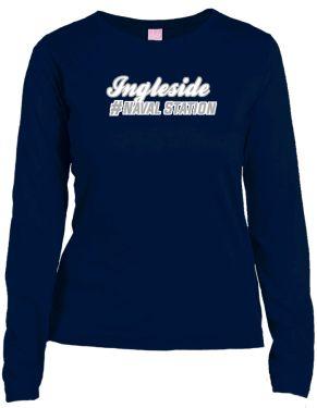 Ingleside Naval Station Lat Ladies' Combed Ringspun Jersey Long-sleeve T-shirt | KART KONG
