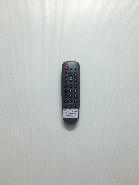 รีโมททีวีพานาโซนิคจอธรรมดา Panasonic 2550
