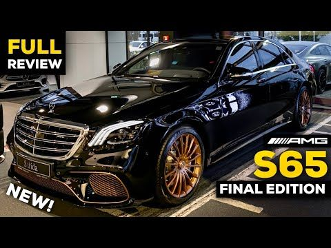 2020 Mercedes S65 Amg V12 Final S Class Edition Full Review Brutal Sound Exhaust Interior Youtube S Class Amg Amg S Class
