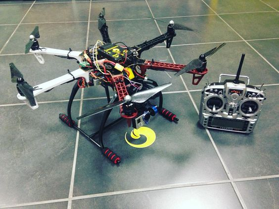 Something we loved from Instagram! Erle-HexaCopter a #drone to lift heavy weights with #ros support. #gopro #gimbal #robot #linux #raspberrypi #erlebrain by erle_robotics Check us out http://bit.ly/1KyLetq