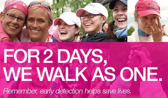 breast cancer walk - Google Search