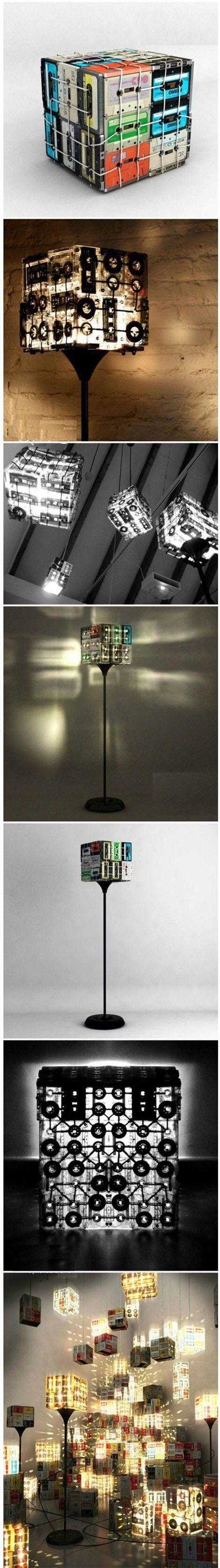 Great Tapes Lamp | DIY & Crafts Tutorials: