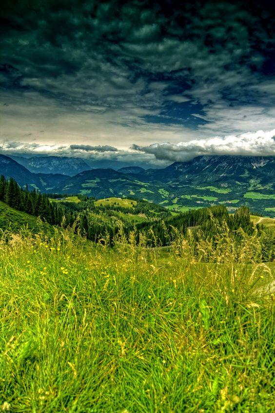 Kitzbueheler Alpen, Austria Beautiful Austria http://www.travelandtransitions.com/austria-travel/
