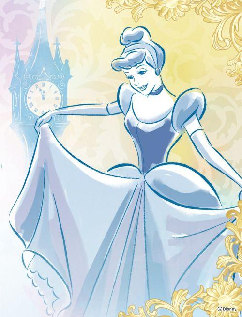 Cinderela Ilustração.