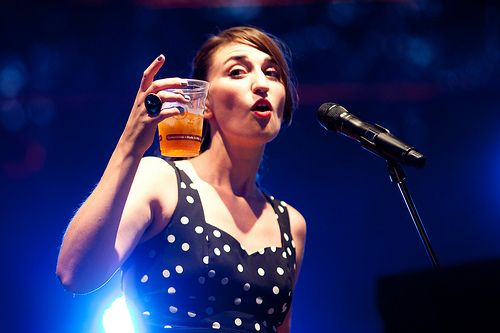 Sara Bareilles at ACL 2011. best show. Teach me your ways.