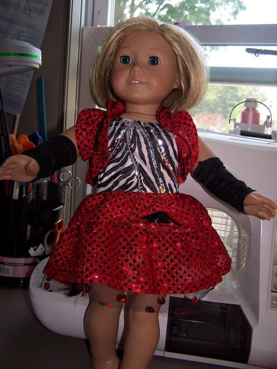 A matching outfit for your doll. by ritassewing on Etsy, $25.00