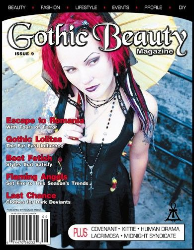 Gothic Beauty Issue 9