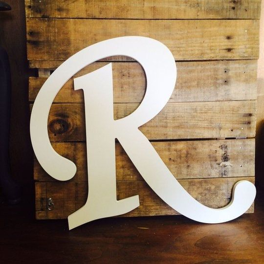 Extra Large Wooden Letter R Guestbook Wall Hanging Rustic Kitsch Boho Modern Decor Object G In 2020 Large Wooden Letters Wooden Letters Modern Boho Decor