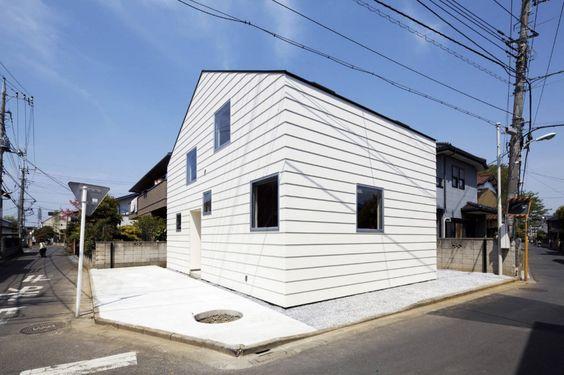 House in Saitama / Satoru Hirota Architects: Cool Houses, Saitama Satoru, Small House, Design Architecture