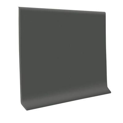 ROPPE Charcoal 4 in. x 120 ft. x 0.125 in. Vinyl Wall Cove Base (1-Coil)-C40C83P123 at The Home Depot $91.40 / carton
