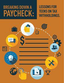 Financial literacy lesson plans from H&R Block Dollars & Sense program